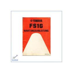 Yamaha FS1G (>79) - Werkstatthandbuch Wartungsanleitung