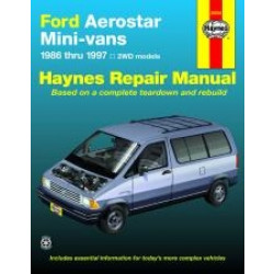 Ford Aerostar Mini-vans (86 - 97) - Repair Manual Haynes