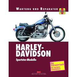 Harley Davidson Sportster (1970-2003) - Reparaturanleitung Schrauberbuch