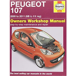Peugeot 107 Benziner 1,0 Liter (05-11) Repair Manual Haynes