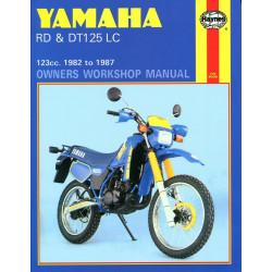 Yamaha RD DT 125 LC (82-87) Repair Manual Haynes