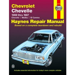 Chevrolet Chevelle (69-87) - Repair Manual Haynes