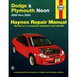 Dodge Neon (00 - 03) - Repair Manual Haynes