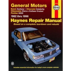 Buick Century (82-96)- Repair Manual Haynes