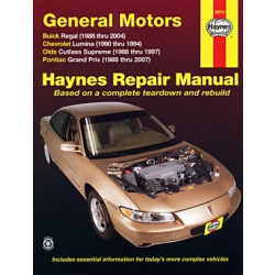 Chevrolet Lumina (88-04) - Repair Manual Haynes