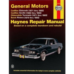 Buick Riviera (79-85) - Repair Manual Haynes