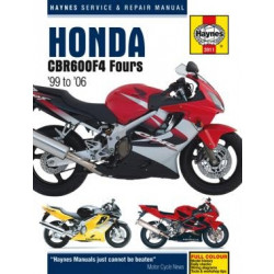 Honda CBR600F4 (99 - 06) - Repair Manual Haynes
