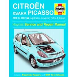 Citroen Xsara Picasso (00-02) - Repair Manual Haynes