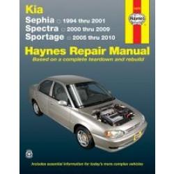 Kia Sephia (94 - 01) - Repair Manual Haynes