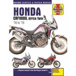Honda CRF1000L Africa Twin  (16-19) Repair Manual Haynes