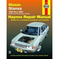 Nissan Stanza (82 - 90) - Repair Manual Haynes