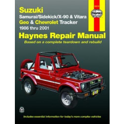Chevrolet Tracker (86 - 01) - Repair Manual Haynes