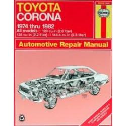 Toyota Corona (74 - 82) - Repair Manual Haynes
