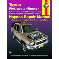 Toyota Pick-up (79 - 95) - Repair Manual Haynes