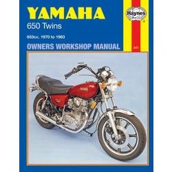 Yamaha 650 Twins (70-83) Repair Manual Haynes