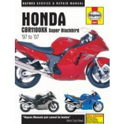 Honda CBR1100XX Super Blackbird (97 - 07)  - Repair Manual Haynes