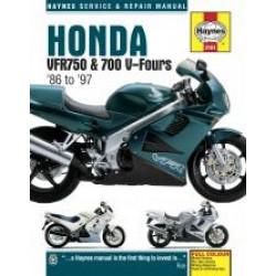 Honda VFR750 and 700 (86 - 97) - Repair Manual Haynes