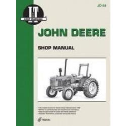 John Deere 2150, 2155, 2255, 2350, 2355, 2355N, 2550, 2555 - Werkstatthandbuch