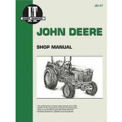 John Deere 850, 950, 1050 - Werkstatthandbuch