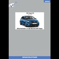 KIA Ceed CD (18-21) Reparaturleitfaden Motormechanik 1,4 Liter Benziner MPI Kappa