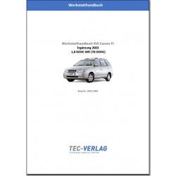 KIA Carens FJ 1,8 DOHC MFI (2003-2006) Werkstatthandbuch Ergänzung