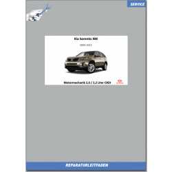 Kia Sorento XM (09-14) Werkstatthandbuch Motormechanik 2,0 / 2,2 Liter Diesel CRDI