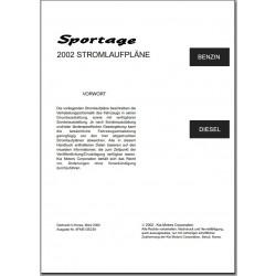 KIA Sportage JA (2000-2002) Schaltplan Stromlaufplan