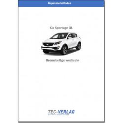 KIA Sportage QL (2015-2018) Reparaturleitfaden Bremsbeläge wechseln