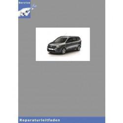Dacia Lodgy (ab 2012) Karosserie Innen - Werkstatthandbuch