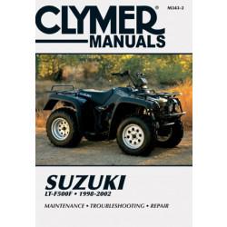 Suzuki LT-F500F (98-00) Clymer Repair Manual