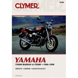 Yamaha YX600 Radian & FZ600 (86-90) Clymer Repair Manual