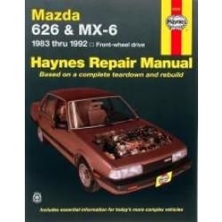 Mazda 626 and MX-6 (FWD) (83 - 92) - Repair Manual Haynes