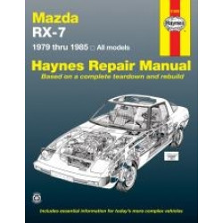 Mazda RX-7 Rotary (79 - 85) - Repair Manual Haynes