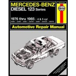 Mercedes-Benz Diesel 123 Series (76 - 85) - Repair Manual Haynes