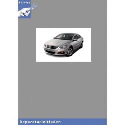 VW Passat CC, Typ 35 (08>) 6 Gang-Schaltgetriebe 02S - Reparaturanleitung
