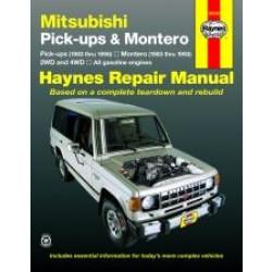 Mitsubishi Pick-up and Montero (83 - 96) - Repair Manual Haynes