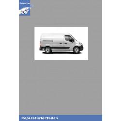 Renault Master III  Motor 2,3L dCi M9T Mechanik - Werkstatthandbuch