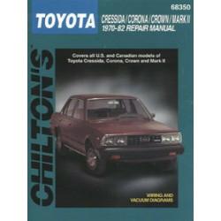 Toyota Cressida / Corona / Crown / MkII (70-82) Repair Manual Chilton