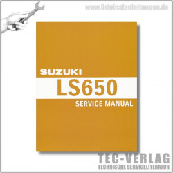 Suzuki LS 650 (87-12) - Service Manual