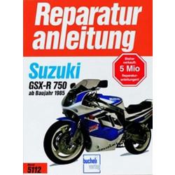 Suzuki GSX-R 750 (85>) - Reparaturanleitung