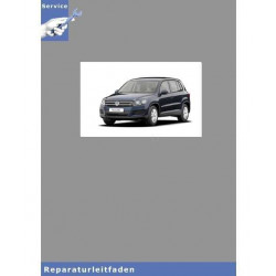 VW Tiguan, Typ 5N (08>) 6 Gang-Doppelkupplungsgetriebe 02E - Reparaturanleitung