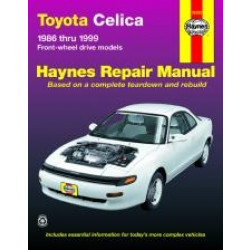 Toyota Celica FWD (86 - 99) - Repair Manual Haynes