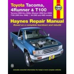Toyota Tacoma, 4Runner and T100 (93 - 00) - Repair Manual Haynes