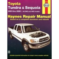 Toyota Tundra and Sequoia (00 - 02) - Repair Manual Haynes