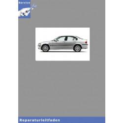 BMW 3er E46 Limousine (97-05) Karosserie Ausstattung - Werkstatthandbuch