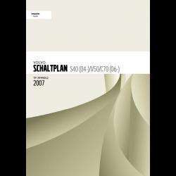 Volvo C70 (2007) Werkstatthandbuch Schaltpläne