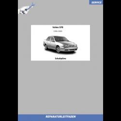 Volvo S70 (1996-2000) Werkstatthandbuch Schaltpläne