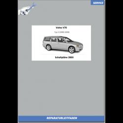 Volvo V70 (2003) Werkstatthandbuch Schaltpläne