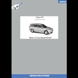 Volvo V70 B (08-16) Werkstatthandbuch Motor 1,6 Liter Diesel D4164T
