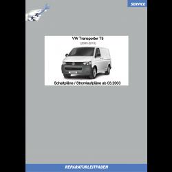 VW Transporter T5 (03-09) Stromlaufpläne / Schaltpläne ab 03.2003